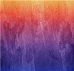 Melting Rainbow Watercolor