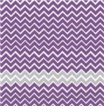 Purple and Gray Chevron Stripes