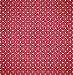 Cute White On Red Polka Dots
