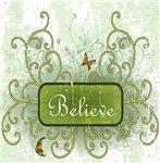 Green Flourish Believe