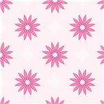Pretty Pink Petal Flowers Pattern