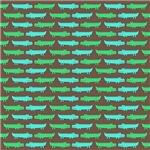 Green Alligator Pattern