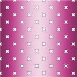 Gradient Pink Star Pattern