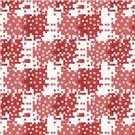 Red and Pink Digital Squares Pattern