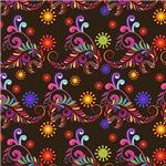 Pretty Colorful Flourishes