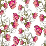 Pretty Pink Vine Flowers