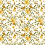 Pretty Little Yellow Flower Pattern