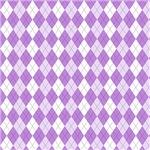 Purple and White Argyle Pattern
