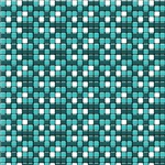Turquoise and White Tiny Squares Pattern