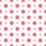 Pretty Pink Fluffy Flowers Pattern