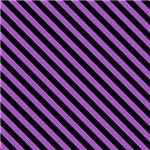 Purple and Black Diagonal Stripes