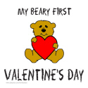 FIRST VALENTINE'S DAY T-SHIRTS AND GIFTS