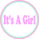 IT'S A GIRL MATERNITY T-SHIRTS AND GIFTS