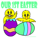 OUR FIRST EASTER T-SHIRTS AND GIFTS
