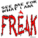 FREAK T-SHIRTS AND GIFTS