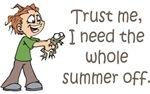 Summer Off Teacher T-shirts & Gifts