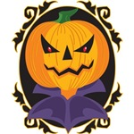 Sinister Halloween Pumpkin