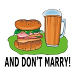Anti-Marriage Humor T-shirts & Gifts