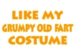 Funny Grumpy Old Fart Hallowen Costume