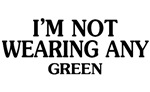 Funny Green St. Patrick's Day T-shirts