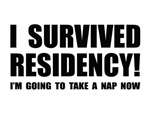 Funny Residency Survivor T-shirts & Gifts
