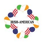 Patriotic Green Irish American St. Patrick's Day T