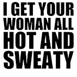 Sweaty Woman