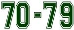 70-79 GREEN