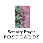 Serenity Prayer Postcards