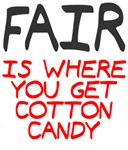 Fair is cotton candy
