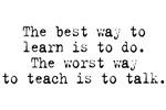 Worst Way Teach Talk