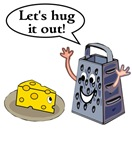 Cheese Grater Hug