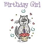 Birthday Girl Cat