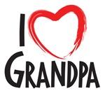 i heart Gandpa, I love Grandpa