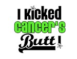 I Kicked Cancer's Butt Lymphoma T-Shirts & Gifts