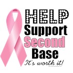 Help Support 2nd Base T-Shirts & Gifts