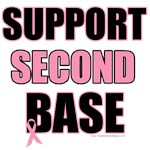 Support Second Base T-Shirts & Gifts (v2)