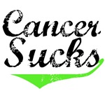 Grunge Style Cancer Sucks Lymphoma T-Shirts