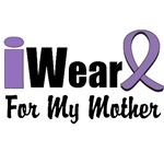 I Wear Violet Ribbon For My Mother Shirts
