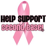 Help Support Second Base T-Shirts & Gifts