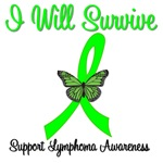 I Will Survive Lymphoma T-Shirts & Gifts
