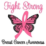 Fight Strong Breast Cancer T-Shirts