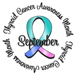 Thyroid Cancer Awareness Month T-Shirts & Gifts
