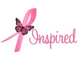 Breast Cancer Inspired  Butterfly