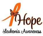 Leukemia Hope Butterfly T-Shirts & Gifts