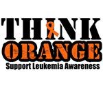 Leukemia Think Orange T-Shirts & Gifts