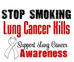 Stop Smoking Lung Cancer Kills T-Shirts