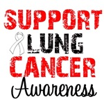 Support Lung Cancer Awareness Shirts & Tees