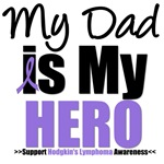 Hodgkin's Lymphoma Hero (Dad) Shirts