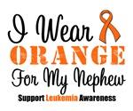 I Wear Orange For My Nephew Grunge Shirts